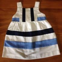 vestidinho no estilo navy baby - 6 meses - EPK