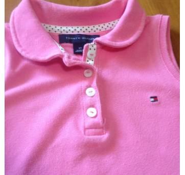 vestido rosa LINDO da Tommy Hilfiger - 4 anos - Tommy Hilfiger