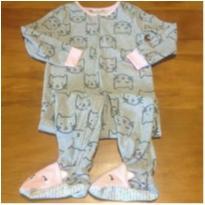 pijama - macacão com pezinhos fofura da Carter`s - 5 anos - Carter`s