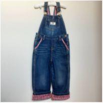 jardineira jeans oshkosh - 4 anos - OshKosh