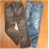 calças jeans com elastano babygap e ikks