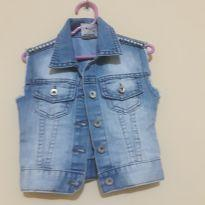 Colete Jeans - 9 a 12 meses - Crawling