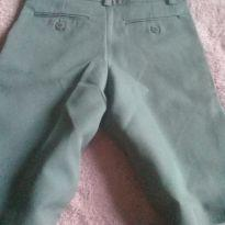 calça social cinza - 8 anos - Não informada