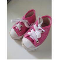 Tênis Rosa de Glitter - 19 - baby confort
