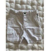 Shorts cargo Branco Reserva Mini - 1 ano - Reserva mini