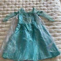 Vestido Elsa Frozen Disney Original - 3 anos - Disney