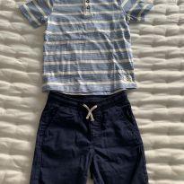 Conjunto camiseta e shorts H&M - 5 anos - H&M