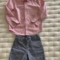 Conjunto Camisa e Shorts Janie and Jack