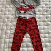 Pijama Bombeiro Baby GAP - 2 anos - Baby Gap