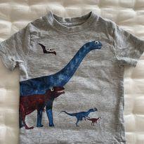 Camiseta Dino Baby GAP - 2 anos - Baby Gap