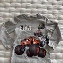 Camiseta manga longa Blaze H&M - 3 anos - H&M