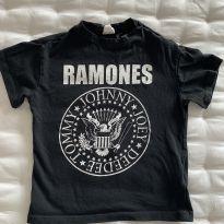 Camiseta Ramones H&M - 18 a 24 meses - H&M