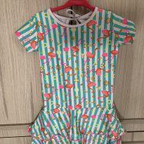 Vestido Flamingo Beta Be Tam M - 3 anos - Sem marca
