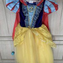 Fantasia Branca de Neve TAM 4 - 4 anos - Disney