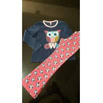 Pijama coruja - 6 anos - Puket