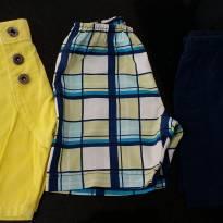 Kit com 3 shorts - 1 ano - Diversas