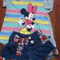 Conjunto tam. 1 - 1 ano - Disney