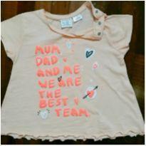 Camiseta Zara tam.3/4 - 3 anos - Zara Baby