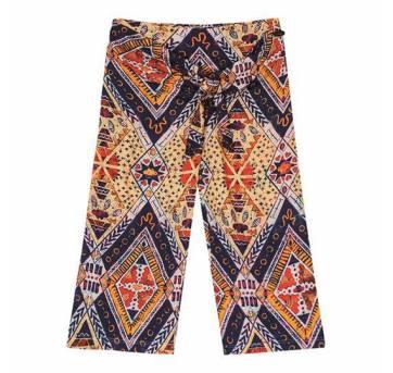 Calça Pantalona Étnica - 4 anos - Lilica Ripilica