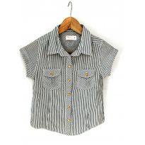 Camisa Menina Listrada - 10 anos - Marisol