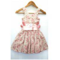 Vestido de festa floral - 5 anos - Nacional