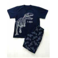 Pijama T-Rex Marinho - 12 anos - HOT DOG