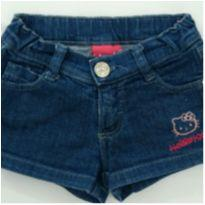 Short Jeans bordado - 4 anos - Hello  Kitty