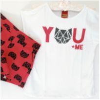 Conjunto You + Me - 6 anos - Kyly