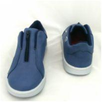 Tênis com Zíper azul - 33 - Marisol
