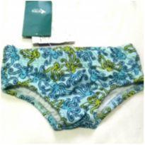 Sunga azul com proteção UV 50+ - 2 anos - KAMYLUS