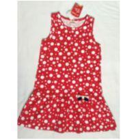 Vestido Vermelho Poá - 8 anos - Brandili