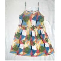 Vestido Verão abstrato - 10 anos - yeap