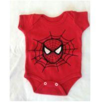 Body Homem Aranha - 3 meses - Arranquei a etiqueta
