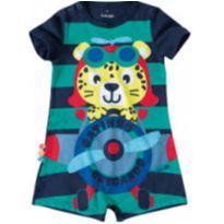 Macacquinho Azul Marinho - 2 anos - Malwee