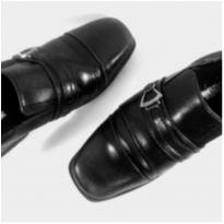 Sapato Social Preto - 32 - Nacional