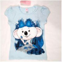 Blusinha Lilica Azul - 8 anos - Lilica Ripilica