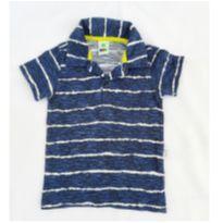 Camiseta Polo listras - 2 anos - PUC