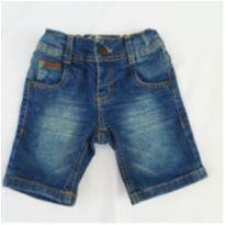 Bermuda Jeans com Elastano Little Boy - 3 anos - Little Boy