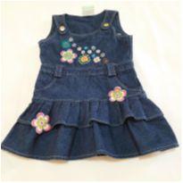 Vestido Jeans bordado - 2 anos - Teddy Boom