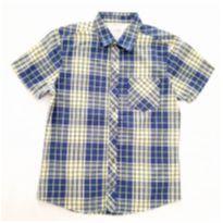 Camisa Xadrez Azul/verde - 16 anos - Malwee
