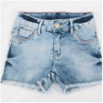 Short Jeans com Elastano - 8 anos - marmelada