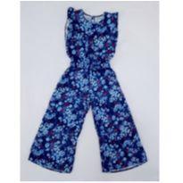 Macacão floral azul - 6 anos - Lilica Replica