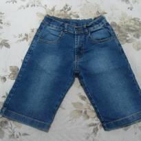 Bermuda jeans perfeita - 8 anos - playground