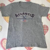 Camiseta Onibus Espacial Atlantis - 7 anos - Importada