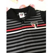 Camiseta Polo SPFC São Paulo Futebol Clube Oficial - 6 anos - São Paulo Futebol Clube
