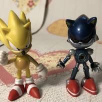 Kit Amigos do Sonic miniatura 7cm -  - sega