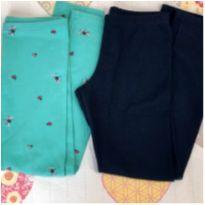 Kit 2 calças legging Tam 8 Joaninha - 8 anos - Old Navy e Alakazoo!