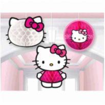 Kit Enfeite Festa Hello Kitty 3 peças -  - DesignWare