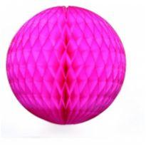 Kit 5 bolas de papel crepom decoração festa -  - Não informada