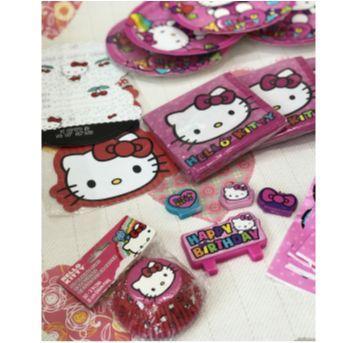 Kit festa Hello Kitty - Sem faixa etaria - DesignWare e Festcolor